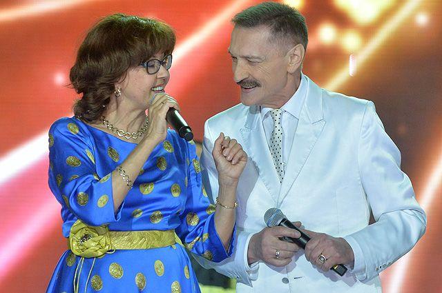 Ядвига Поплавская и Александр Тиханович. Июль 2016 года.