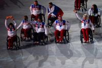 Российские паралимпийцы на Сочи, 2014 г.
