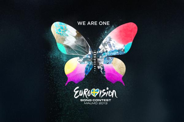 В 2013 году логотипом была выбрана бабочка, которая включала в себя различные цвета, текстуры и элементы, символизирующие различные виды искусства. Слоган «Мы едины» (We Are One) подчеркивал разнообразие, единение и общие ценности, которые представляет конкурс Евровидение.