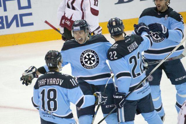 Это уже четвертая победа «Сибири» подряд