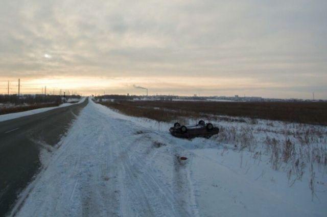 На трассе Оренбург-Орск в ДТП с «Daewoo Nexia» пострадала женщина