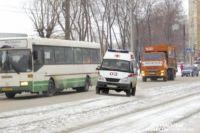 Почему автобус не остановился и не дождался скорой помощи?