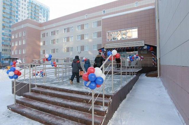Школа была построена на средства федерального, городского и областного бюджетов