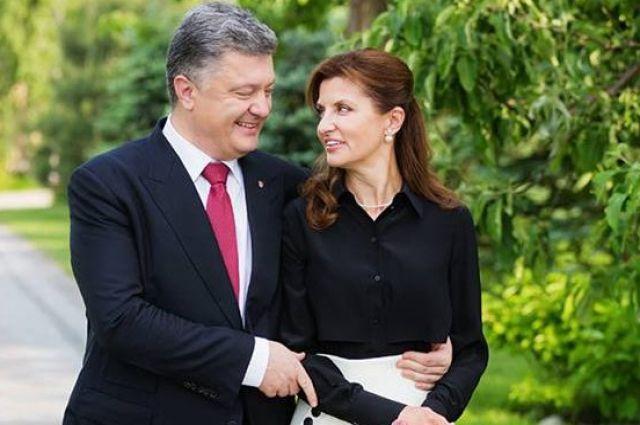 Президент поздравил супругу сднем рождения