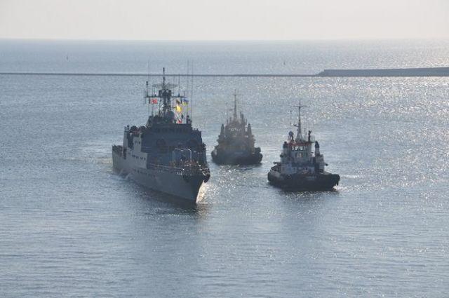Учения будут проходить в восточной части акватории Черного моря