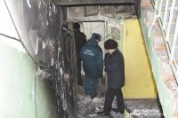 Взрыв в квартире произошёл из-за утечки газа.
