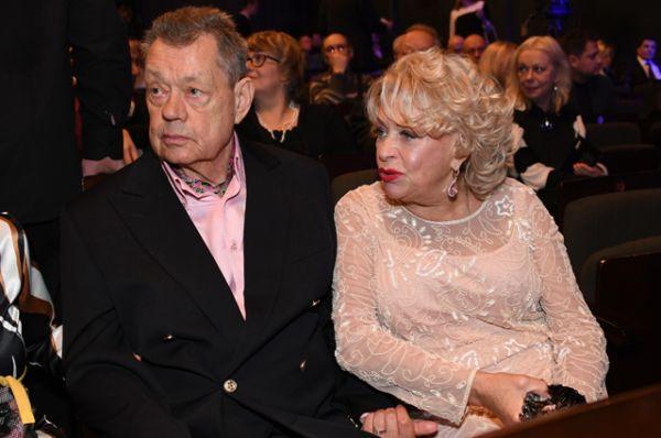 Актёр Николай Караченцов с супругой, актрисой Людмилой Поргиной.