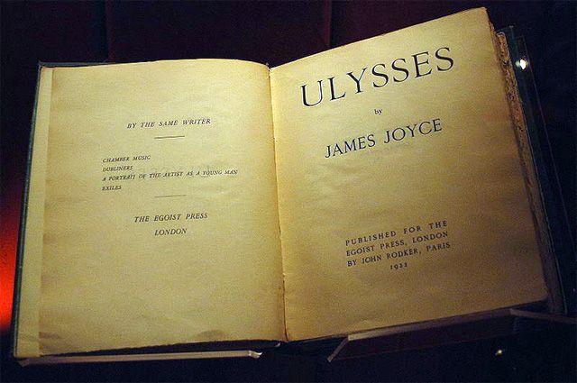 «Улисс», издание 1922 г.