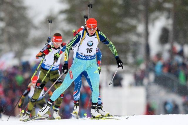 Биатлонистка Юлия Джима стала лучшай спортсменкой января вУкраинском государстве