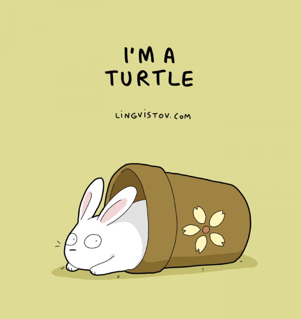 «Я черепаха»