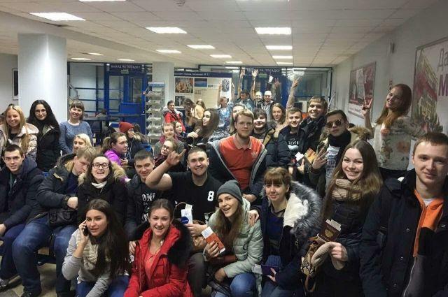 Лучшие студенты Кузбасса отправились в Москву.