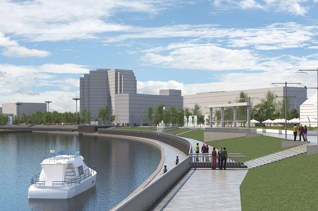 Реконструкция набережной находится на личном контроле губернатора.