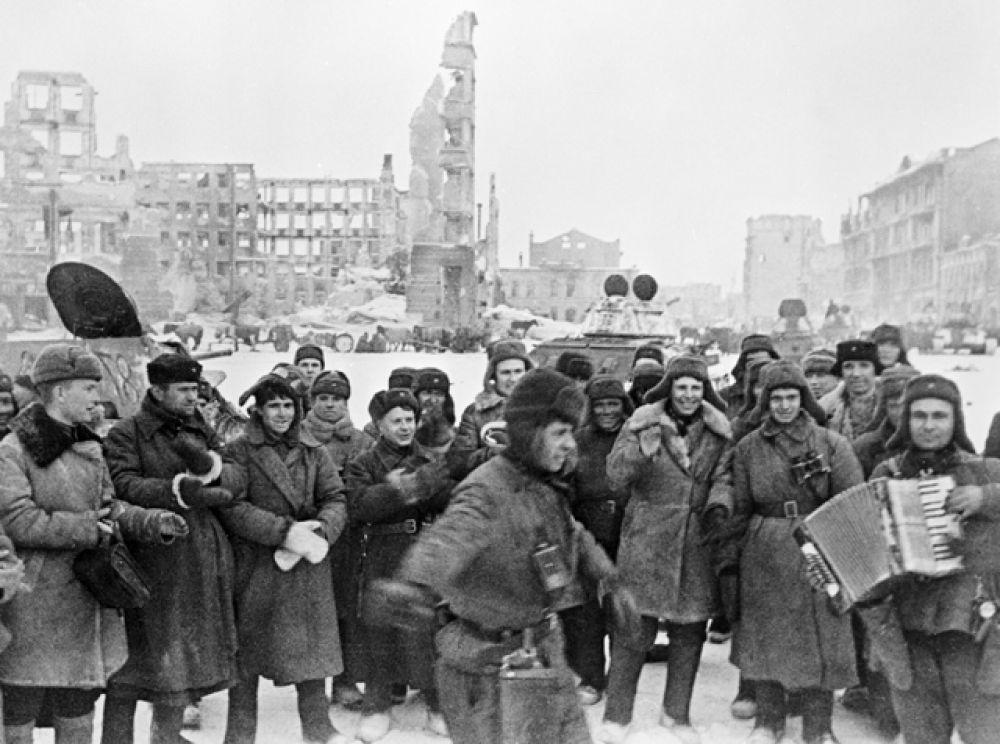 Сталинград, февраль 1943 года. В освобожденном городе.