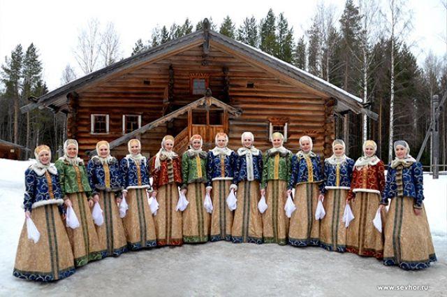 А северянки - самые красивые и самые певучие.