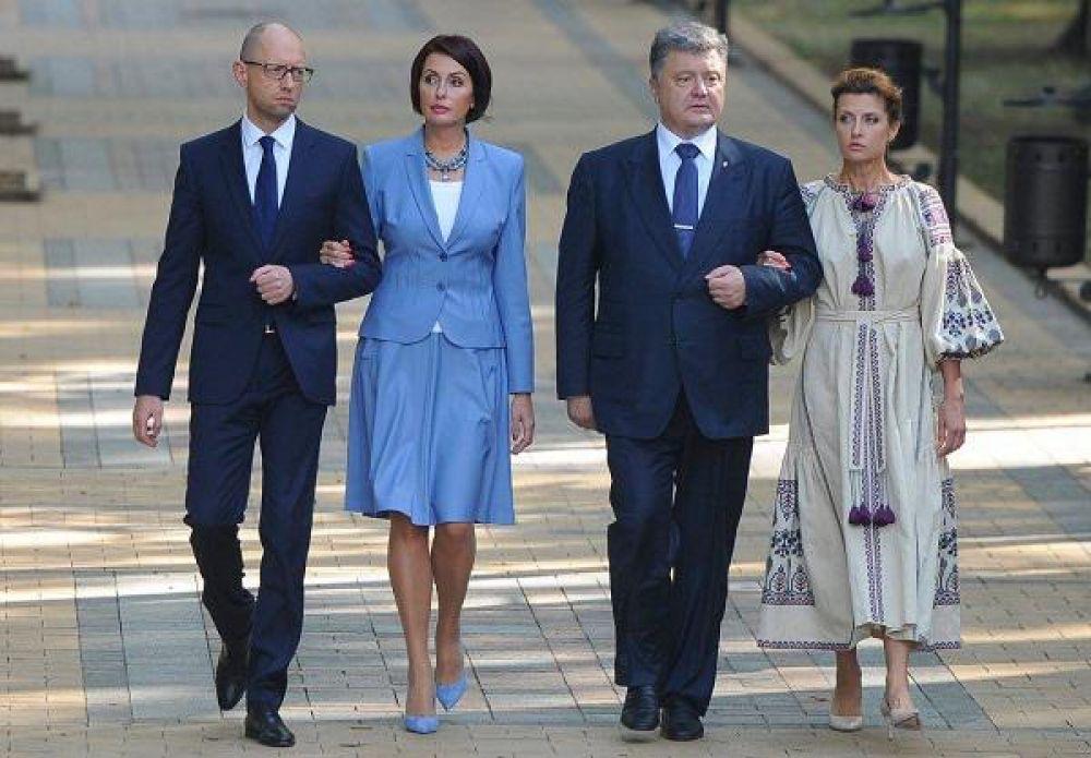 Вообще, Марина Порошенко - любительница этнического стиля