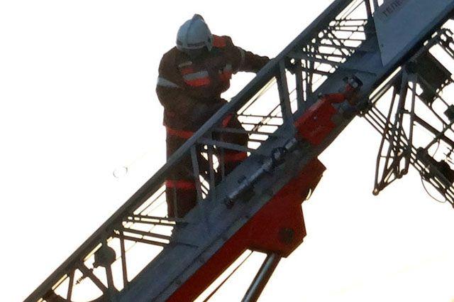 ВБрянске горел чердак трехэтажного жилого дома