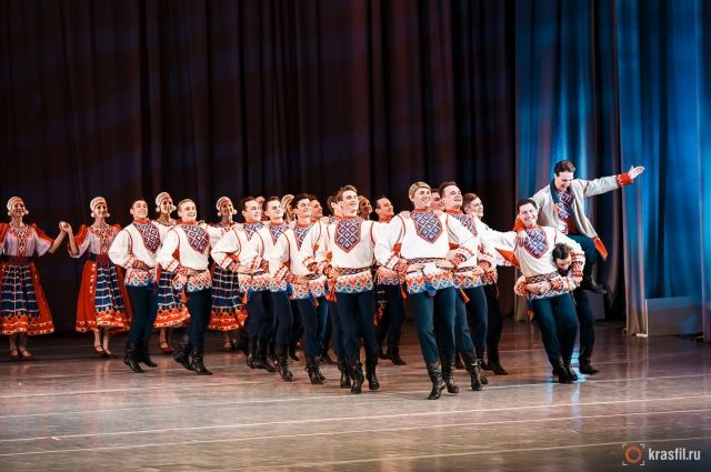 Танцоры из Красноярска пополнили новый состав ансамбля им. Александрова.