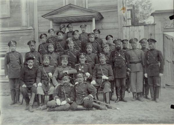Офицеры и солдаты 1914-1916 гг.