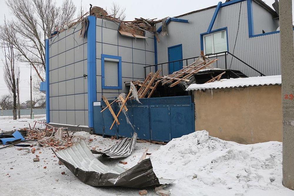Очевидцы описывали разрушения очень красноречиво и это фото явно подтверждает их слова