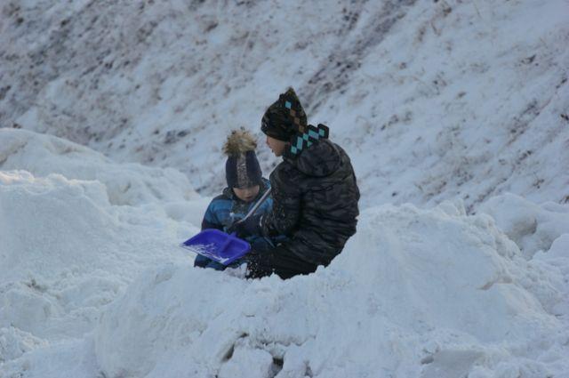 Сейчас общественники получили бесплатные талоны на вывоз 3000 кубометров снега.