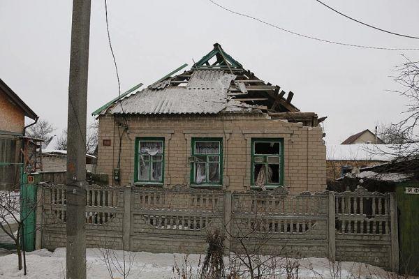 Что может выдержать такая крыша во время артобстрела?