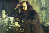 Н. А. Ярошенко. Д. И. Менделеев. 1886. Масло