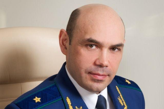 Новый прокурор Крыма Олег Камшилов