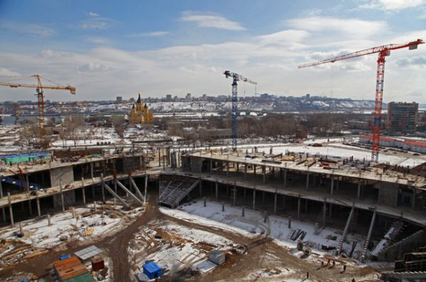 «Стадион Нижний Новгород», вместимость 44 899 человек.