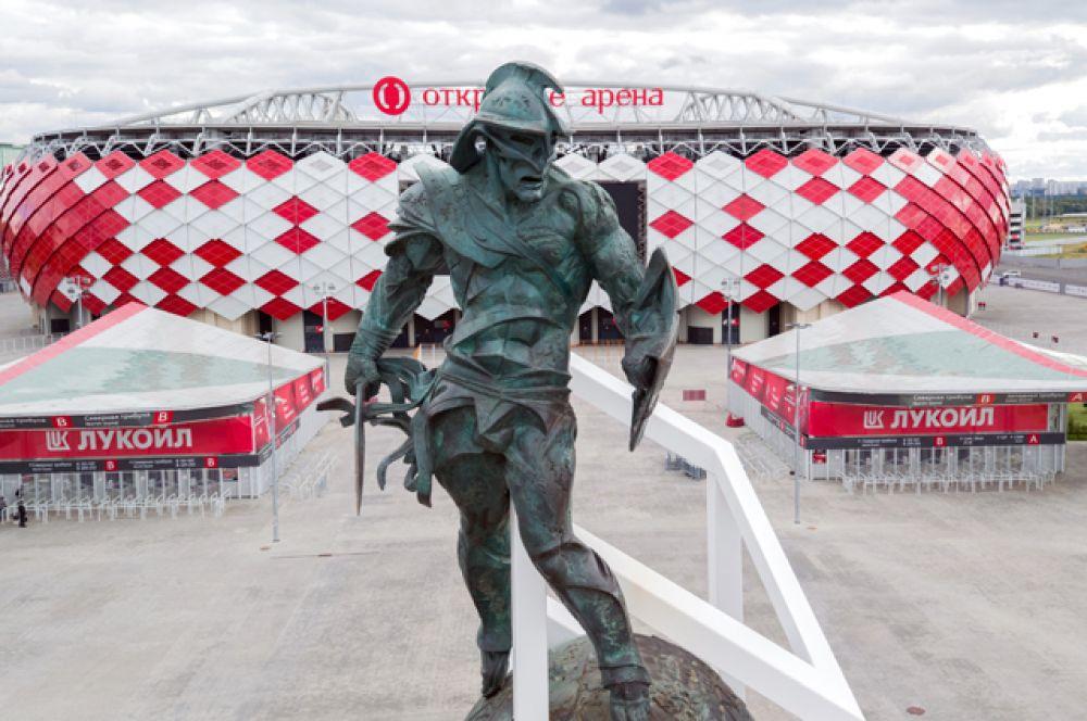 «Стадион Спартак», вместимость 45 000 человек. Единственный объект из списка, который в данный момент полностью готов. Стадион открылся в 2014 году матчем между «Спартаком» и сербской «Црвеной Звездой».