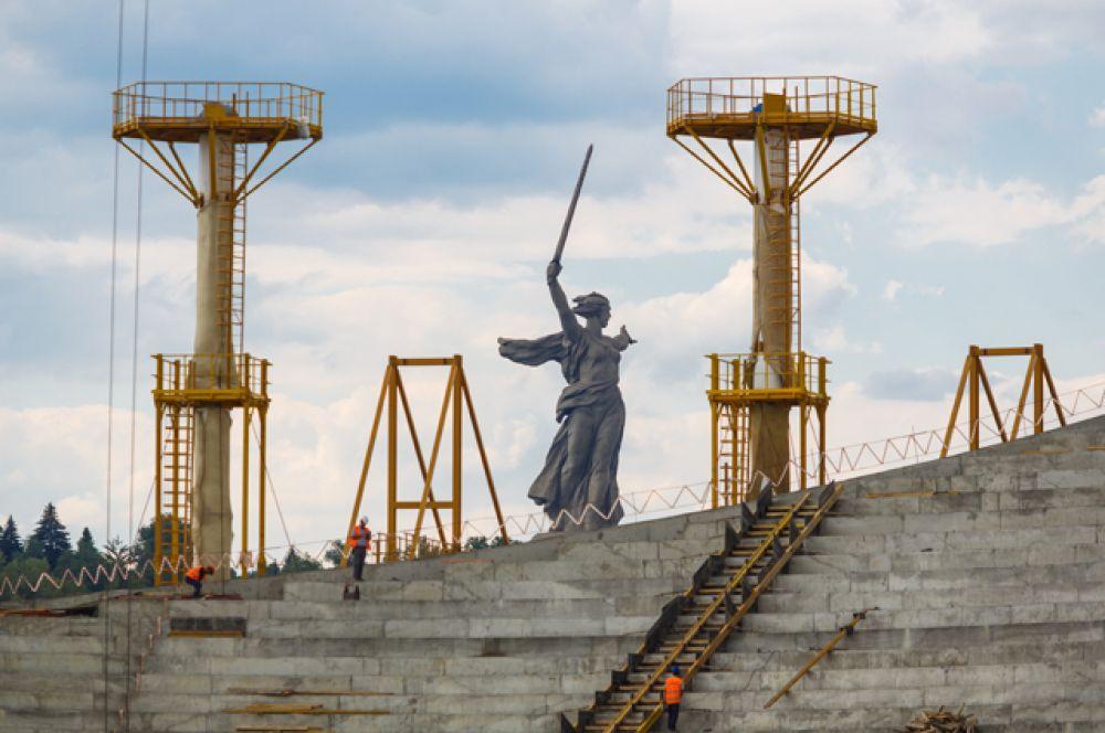 «Волгоград Арена», вместимость 45 015 человек.