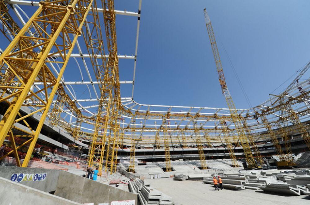 «Ростов Арена», вместимость 43 702 человек.