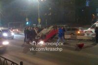 Инцидент произошел перед подъездом к кольцу на улице Тотмина в краевом центре.
