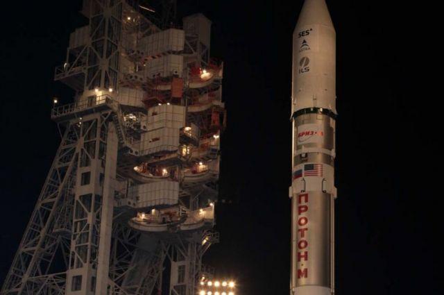 Роскосмос назвал дату пуска ракеты-носителя «Протон»