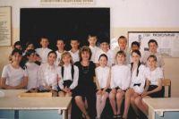Елена Александровна со своими учениками.