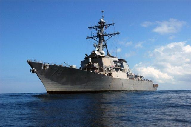 Американский эсминец Porter вошел в акваторию Черного моря