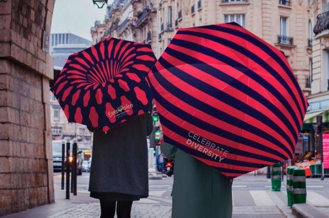 Дизайнеры логотипа для Евровидения показали, как он подходит столице