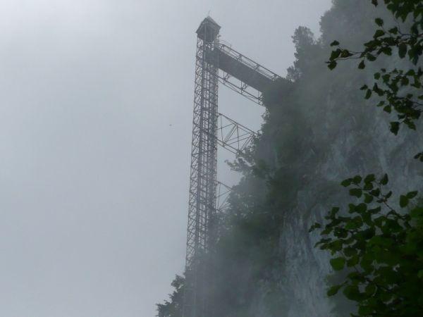 Лифт Хамметшванд находится в Швейцарии и является самым высоким наружным лифтом в мире