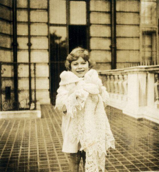 1929-1930 годы. Одна из фотографий семейного альбома Елизаветы II.
