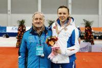 Дарья Качанова мечтает, что тренер Владимир Акилов поможет ей попасть в олимпийский Пхенчхан.