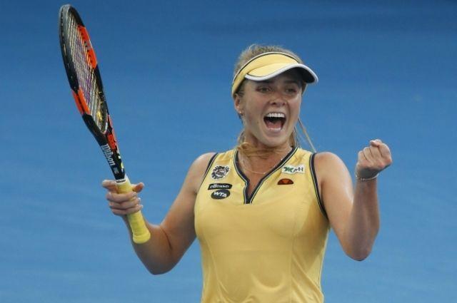 Украинская теннисистка Элина Свитолина будет играть в полуфинале турнира в Тайване