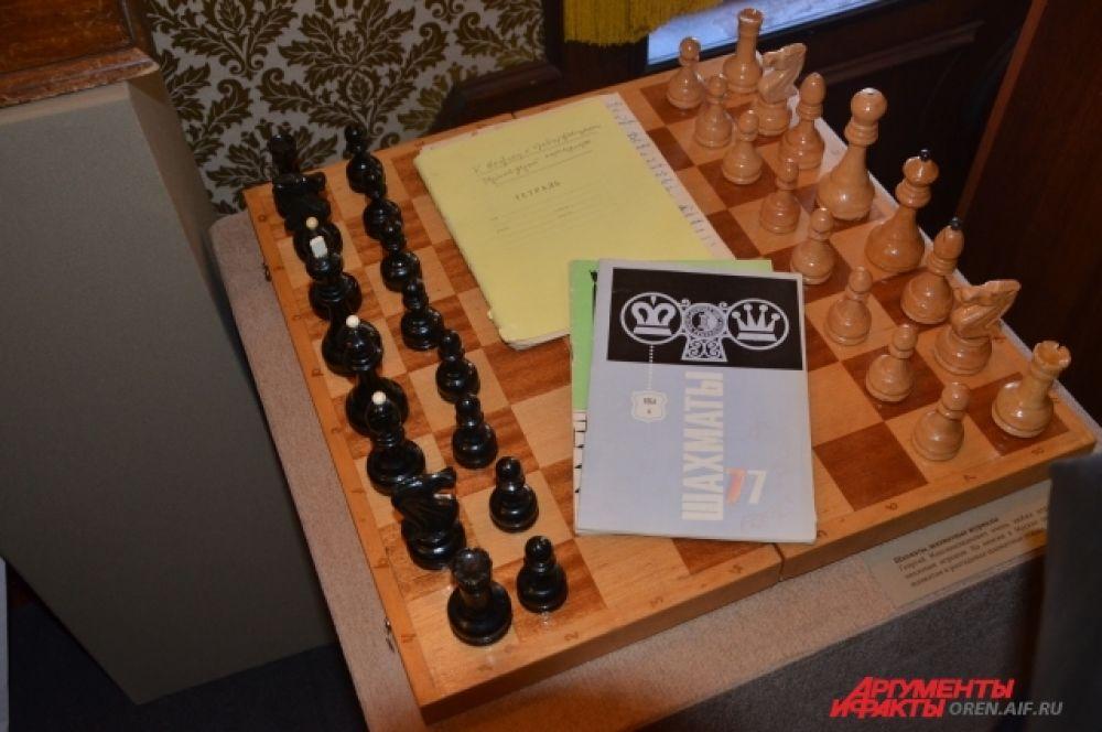 Маленков любил играть в шахматы