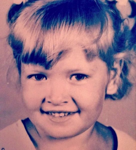Так выглядела Вера, когда была еще совсем ребенком