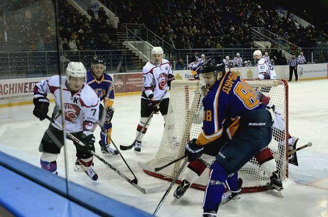 «Рубин» нанес гостевое поражение «Дизелю» в постоянном чемпионате ВХЛ