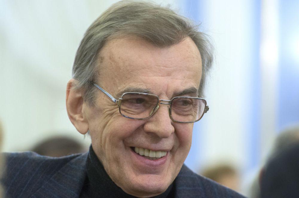 Георгий Тараторкин на церемонии вручения премий правительства РФ 2014 года в области культуры в резиденции «Горки».