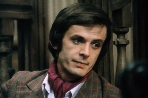 Георгий Тараторкин в фильме «Чисто английское убийство», 1974 г.