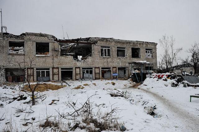 Максимальные усилия направлены на восстановительные работы в частном секторе Авдеевки