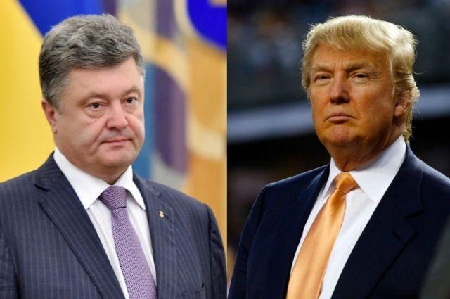 Петр Порошенко поговорит по телефону с Дональдом Трампом