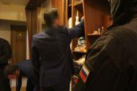Обыск рамках расследования дела по факту взятки в Казачинско-Ленском районе.