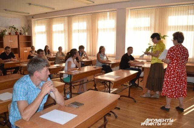 Тестирование пока осталось только в экзамене по иностранному языку.