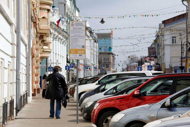ВНижнем Новгороде цена парковки наРождественской подросла в2,5 раза